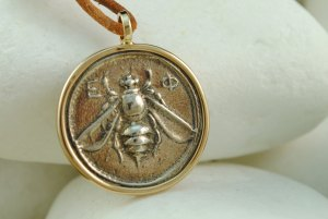 Artemis Greek Coin Pendant