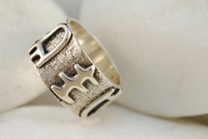 Cycladic Band Ring by A.LeONDARAKIS