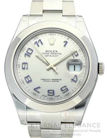 Rolex Datejust II 41 Silver Dial Oyster Automatic 116300