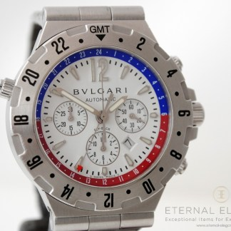 Bvlgari Diagono GMT Fly Back Chronograph GMT 40 SVD FB