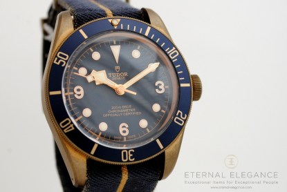 Tudor Black Bay Bronze Blue Special Edition For Bucherer