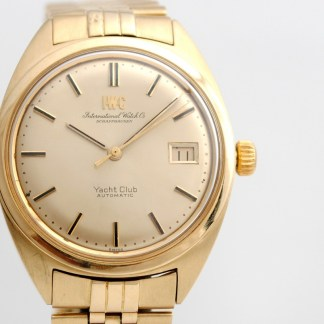 IWC Yacht Club Automatic 18k (0.750) Gold