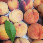 Organic Okanagan peaches