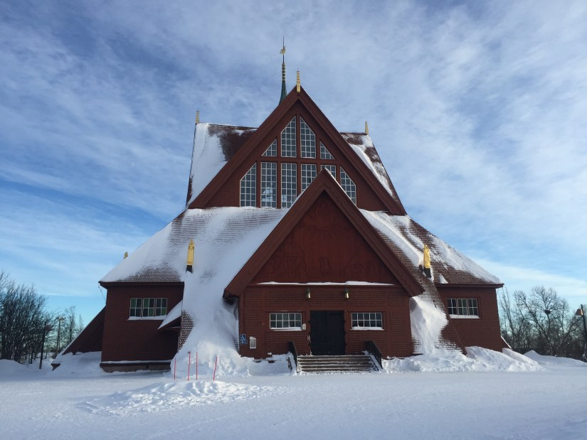 Kiruna Church Sweden