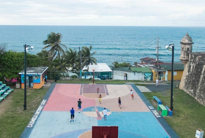 basketball in Old San Juan