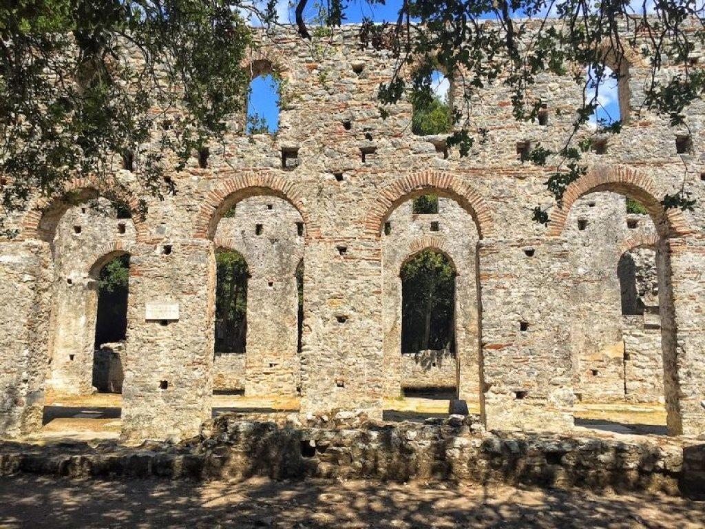unesco site - butrint roman ruins