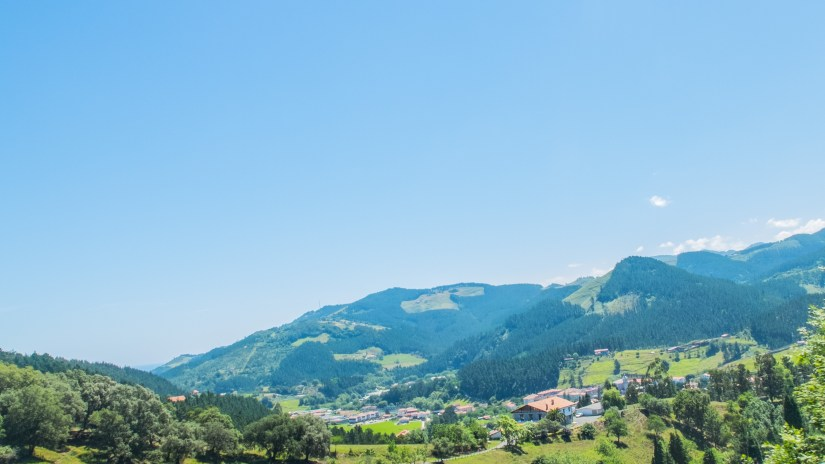 Somewhere between Elorrio and Bilbao in the Basque countryside