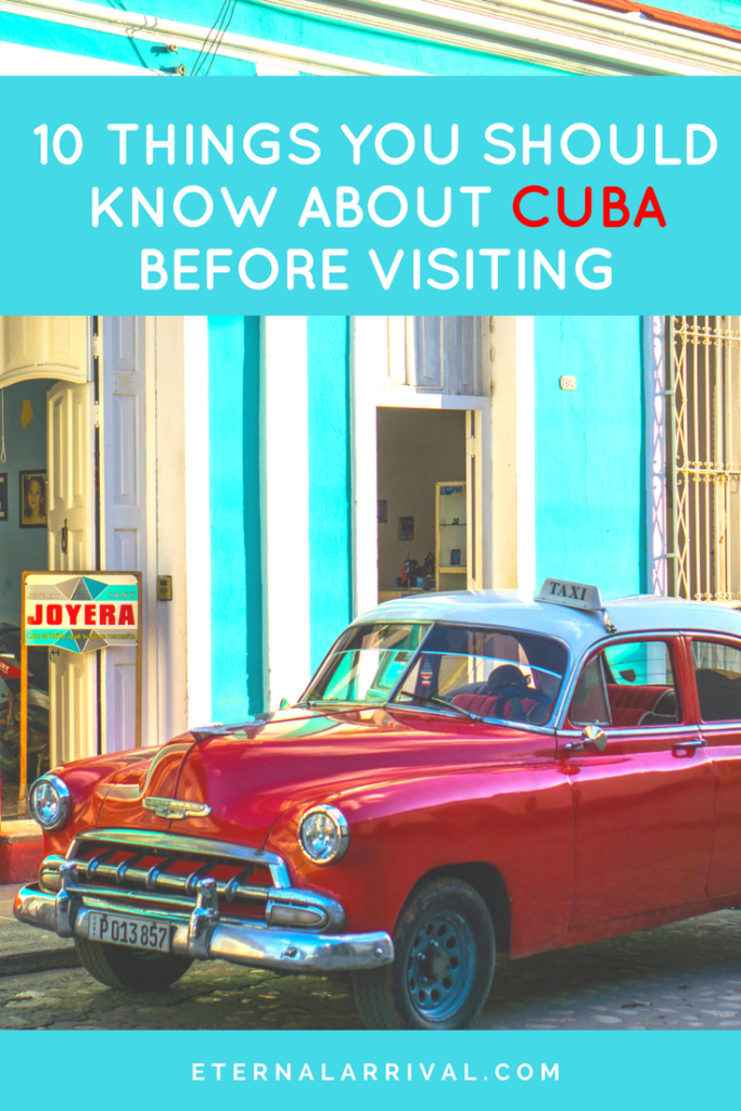 What I wish I knew before coming to Cuba. Equal parts frustrating and fascinating, this spectacular country is more complex than classic cars, cigars, and mojitos all night -- but you'll be well rewarded for visiting if you're prepared with these Cuba travel tips.