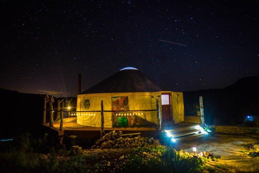 Glamping In A Yurt In Utah Underneath The Milky Way Eternal Arrival