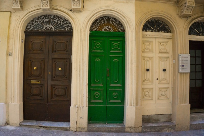 Photograph the doors of Valletta - what to do in Malta!