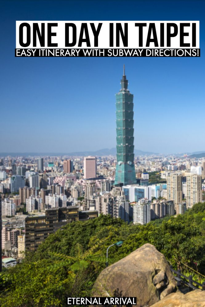 Planning a short visit to Taipei? This guide to the best things to do in Taipei in a day is for you! This Taipei layover guide will help you maximize your Taipei itinerary, from Taipei 101 to the night markets to photography & Instagram spots to shopping to hiking Elephant Mountain & everything in between!Taipei travel | Taipei Food | Taipei photography | Taipei City