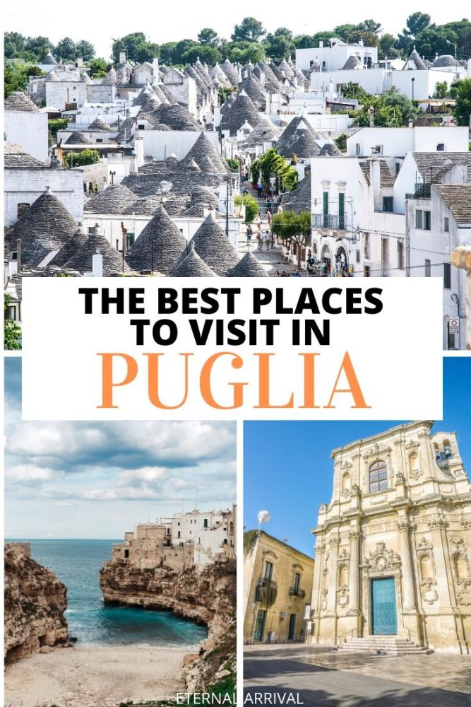 Not sure where to go in Puglia, Italy? This guide to the Puglia region of Southern Italy includes suggestions for the best places to visit in Puglia, from Bari to Monopoli to Alberobello to Polignano a Mare to Lecce and beyond. Create the perfect Puglia itinerary or Puglia road trip with this Puglia travel guide!