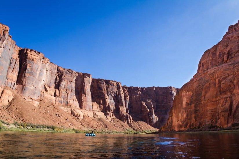 Glen Canyon rafting destination on the Colorado River