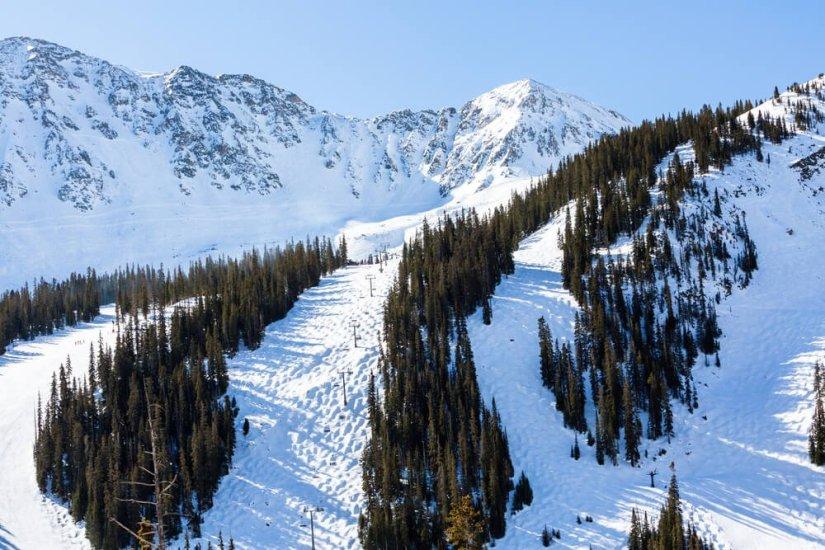 ski trails in loveland pass colorado