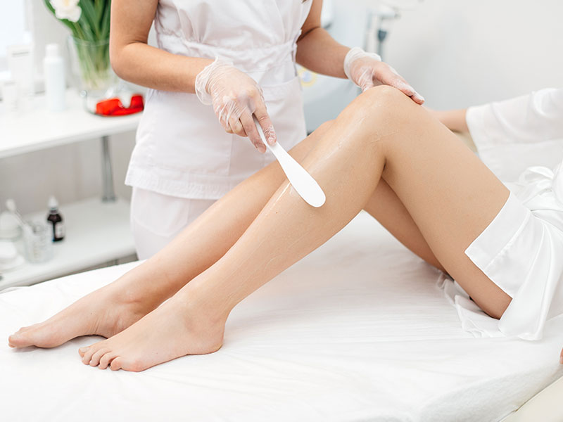 Spa Wax Treatment Application