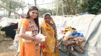 Shubhangi with  Brick Kiln Women Workers on Diwali-1
