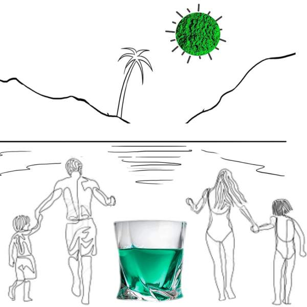 Revive Ocean – Organic Algae Shot