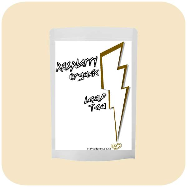 RASPBERRY TEA. ORGANIC LEAF.. ETERNALDELIGHT.CO.NZ