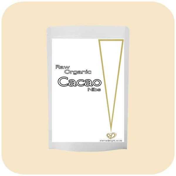 CACAO NIBS ORGANIC POWDER. ETERNALDELIGHT.CO.NZ
