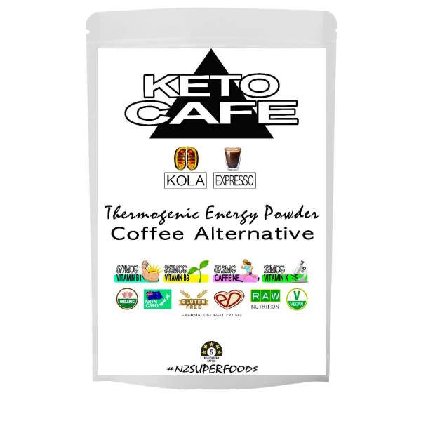 KETO CAFE POWDER. ETERNALDELIGHT.CO.NZ