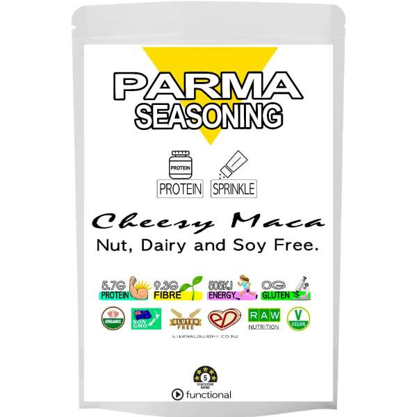PARMA PROTEIN. ORGANIC SEASONING. ETERNALDELIGHT.CO.NZ