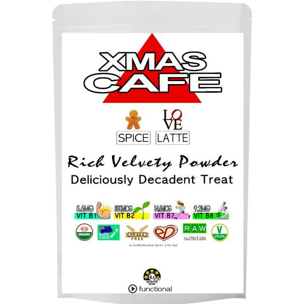 XMAS CAFE LATTE POWDER. ETERNALDELIGHT.CO.NZ