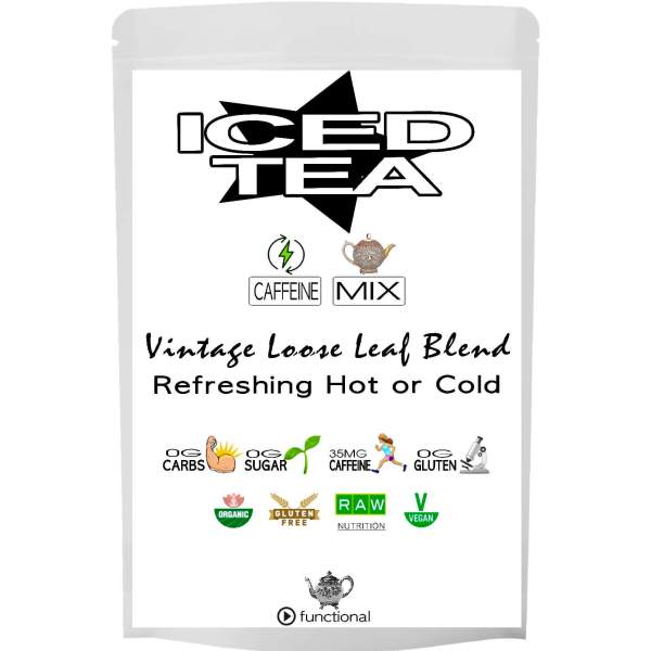 ICED TEA. ORGANIC. BACK. ETERNALDELIGHT.CO.NZ