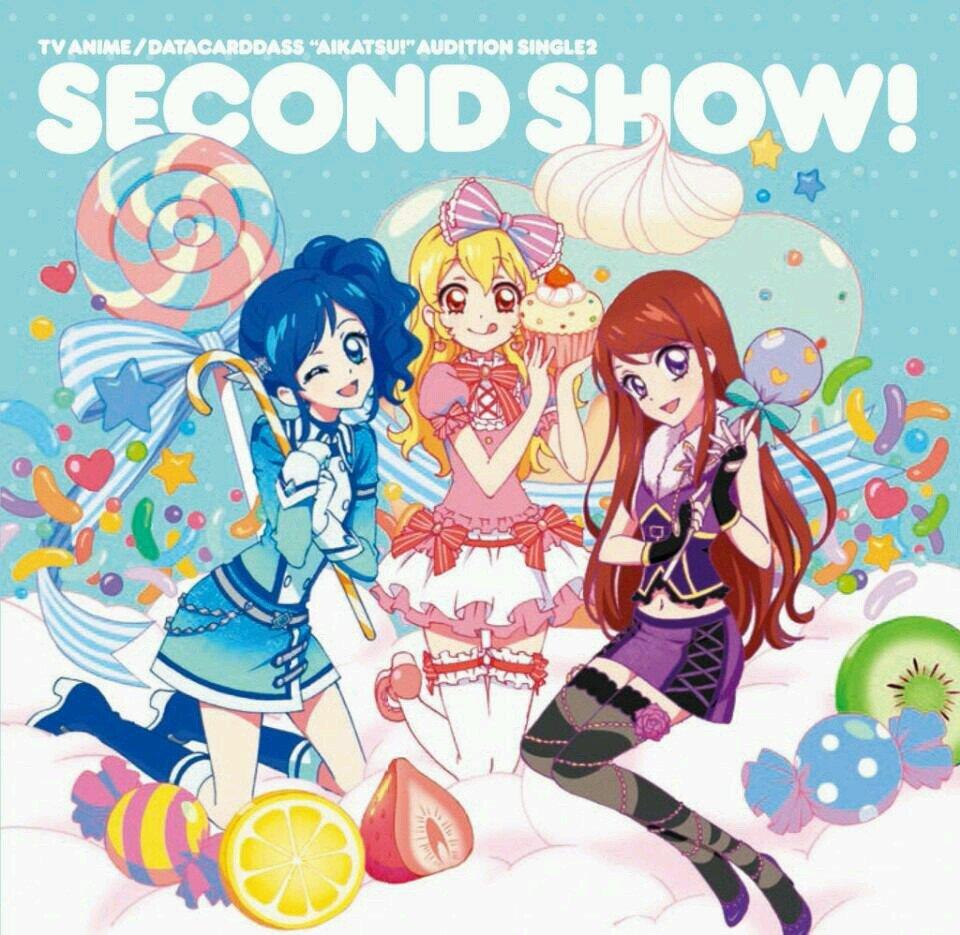 second show aikatsu cd cover