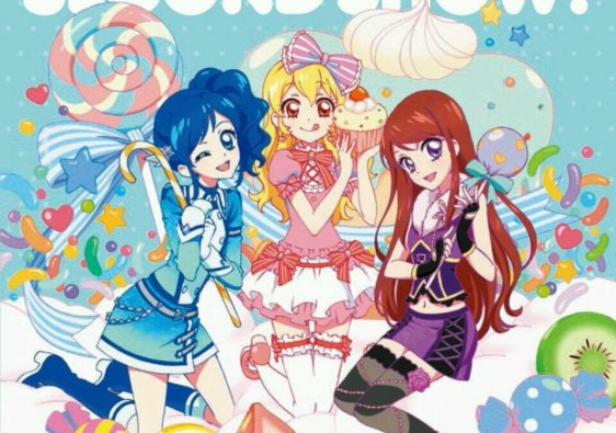 second show aikatsu cd cover