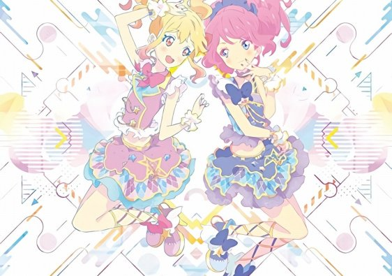 aikatsu stars 1 2 sing for you so beautiful story