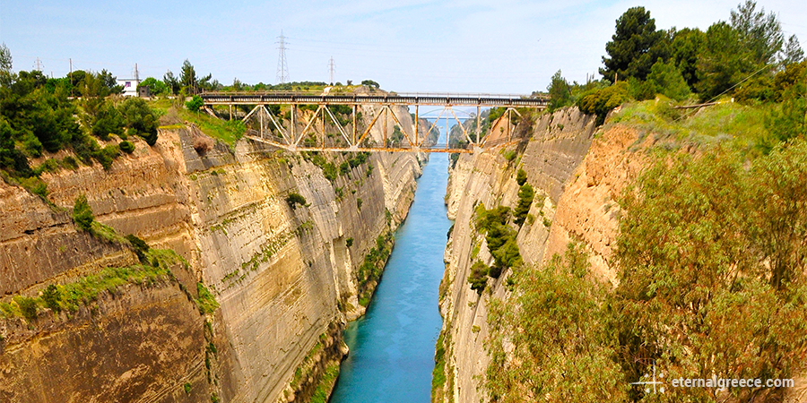 Corinth Canal Eternal Greece Ltd