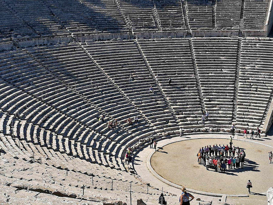 Ancient Epidaurus (Epidavros), Peloponnese, a UNESCO-listed World Heritage Site copyright Eric Cauchi Eternal Greece Ltd Eric