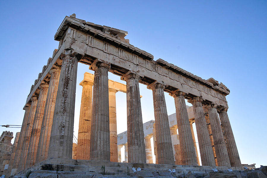 Athens Acropolis, a, UNESCO-listed World Heritage Site copyright Eric Cauchi Eternal Greece Ltd Eric Cauchi Eternal Greece Ltd