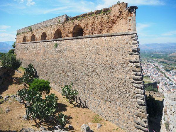 Nafplio Nauplio Palamidi fortress Peloponnese Eric CB Cauchi Eternal Greece Ltd