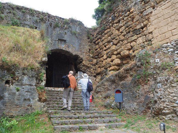Kalamata castle Peloponnese Greece