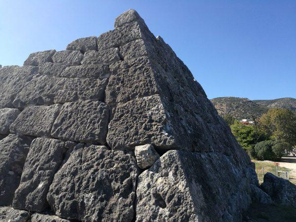 Pyramid of Hellinikon Peloponnese Eric CB Cauchi Eternal Greece Ltd