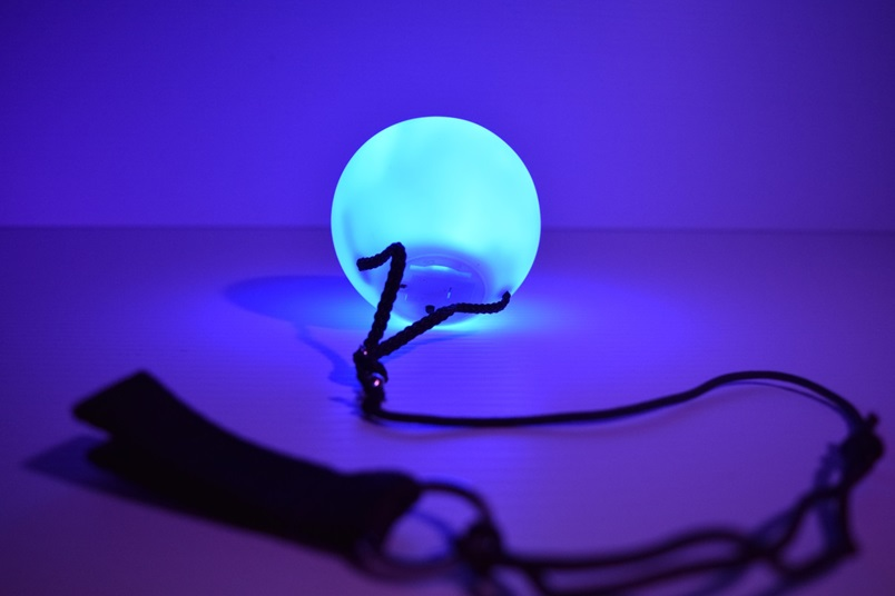 LED Poi Balls Spinning Poi Set