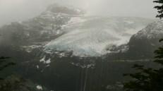 el glaciar se escurre, (Bariloche, El Tronador)