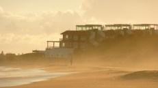 la arena silbando la tarde, La Barra