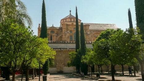 Los jardines de la Mezquita