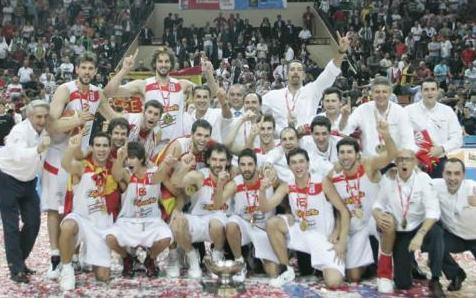 España Campeona Eurobasket