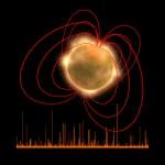 """ESA mostra uma gigantesca erupção de uma rara estrela """"morta"""": um magnetar em ação"""