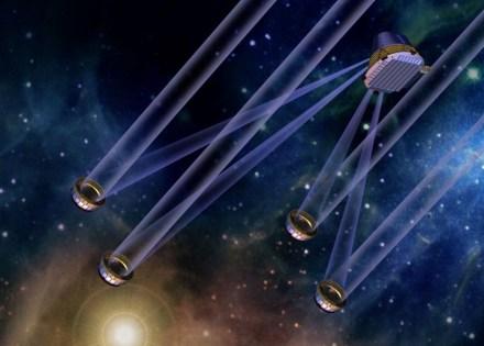 Rede de telescópios do programa TPF (Terrestrial Planet Finder) da NASA
