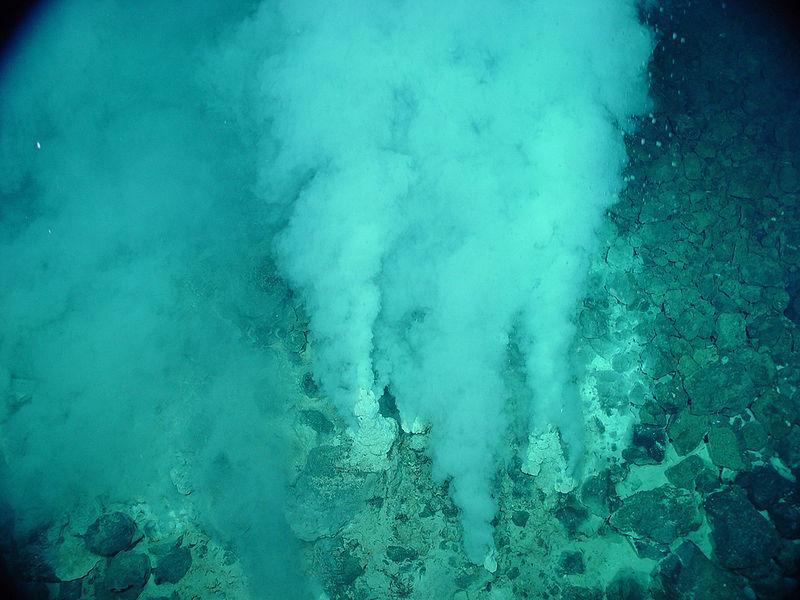 Fontes hidrotermais oceânicas: o verdadeiro berço da vida?