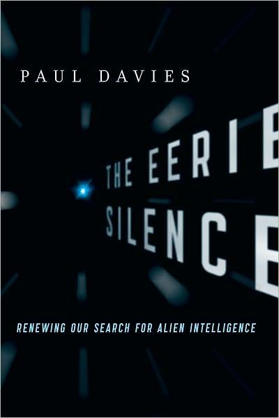 Capa do The Eerie Silence livro de Paul Davies