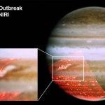 Por que os cinturões escuros de Júpiter desaparecem e depois ressurgem?