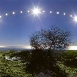 Danilo Pivato e o solstício de inverno na costa italiana do Mar Tirreno