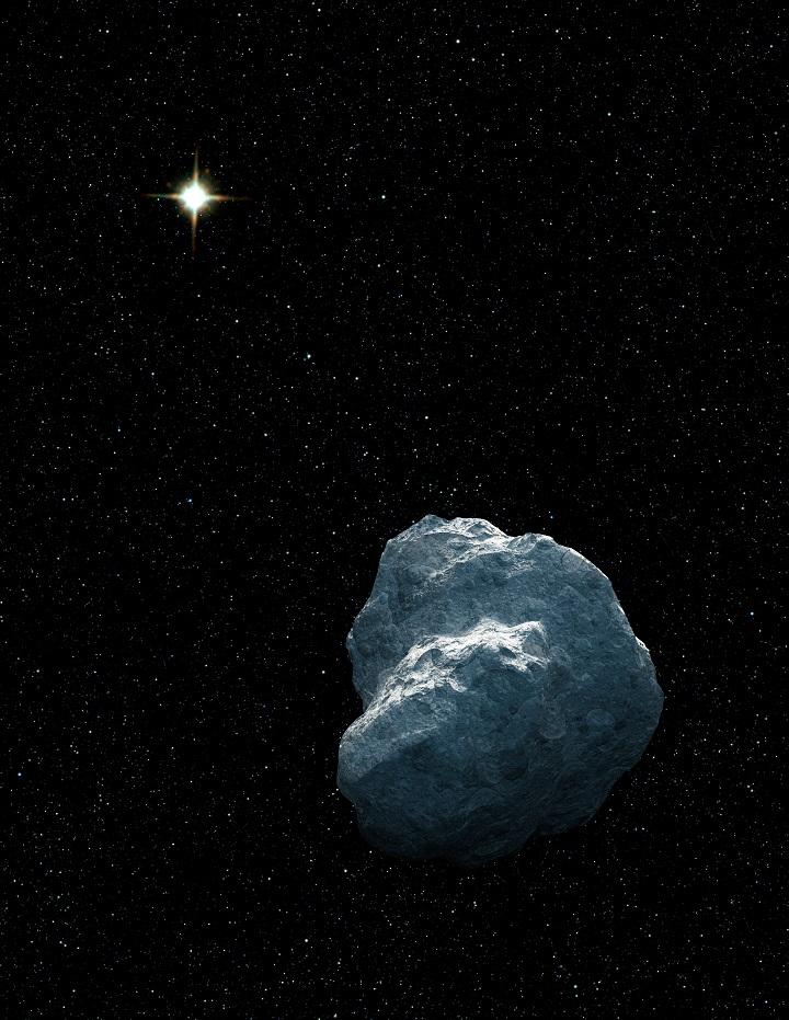 Ilustração de um objeto Trans-Netuniano. Crédito: NASA, ESA e G. Bacon (STScI)
