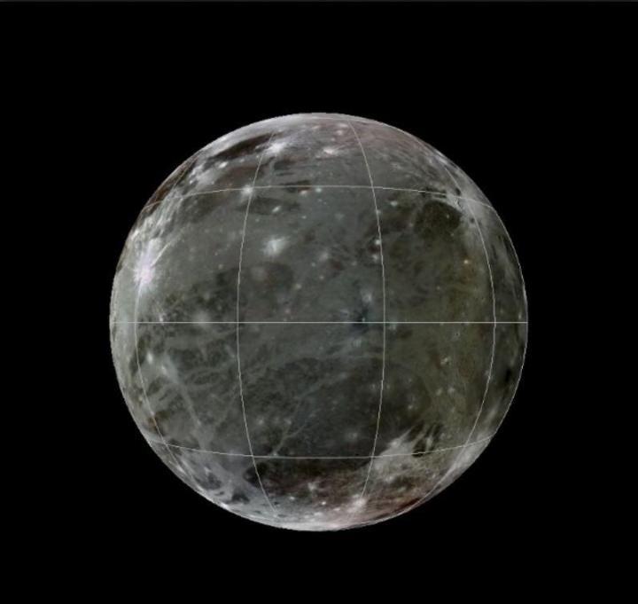 Ganimedes/Crédito: USGS Astrogeology Science Center/Wheaton/ASU/NASA/JPL-Caltech