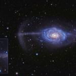NGC 4651: galáxia do guarda-chuva revela dramáticas interações cósmicas